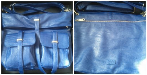 Christopher Kon co-lab purse (blue)