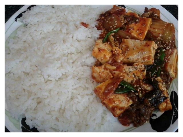 Gaya Spicy Kimchi Tofu