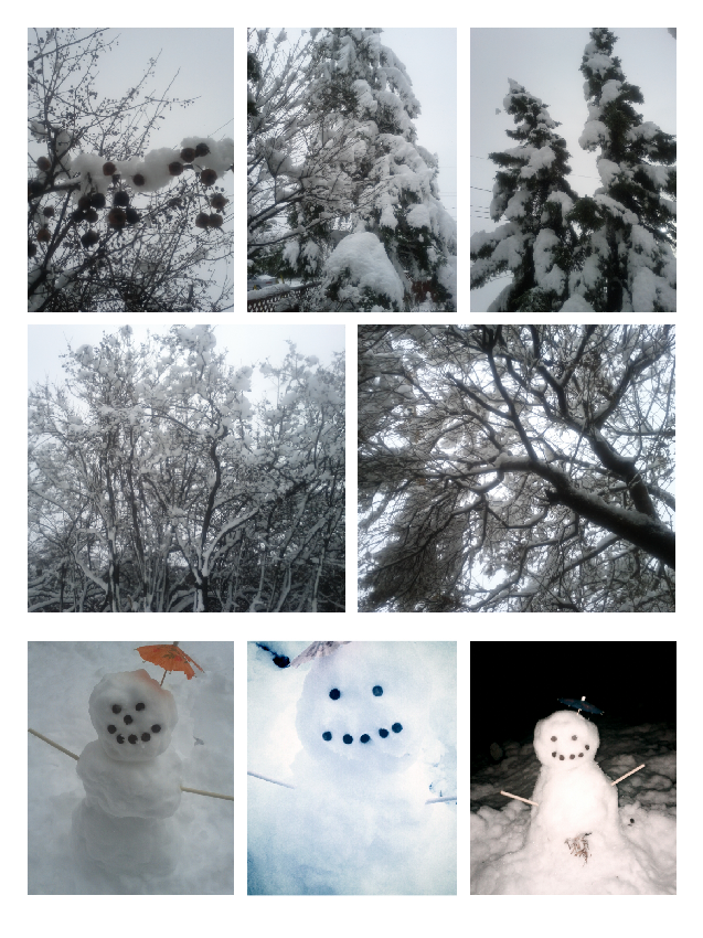 Snow day photos
