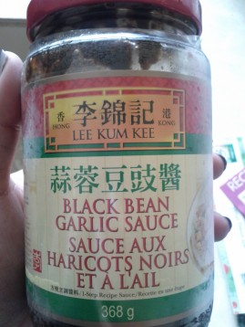 Black bean and garlic sauce