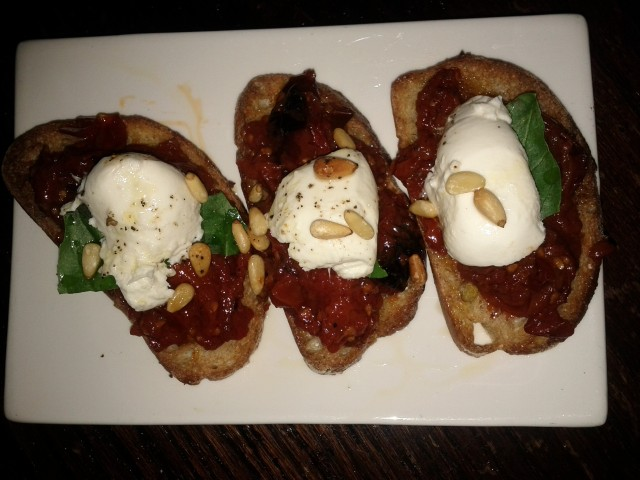 Roasted Tomato Crostini from Red Star