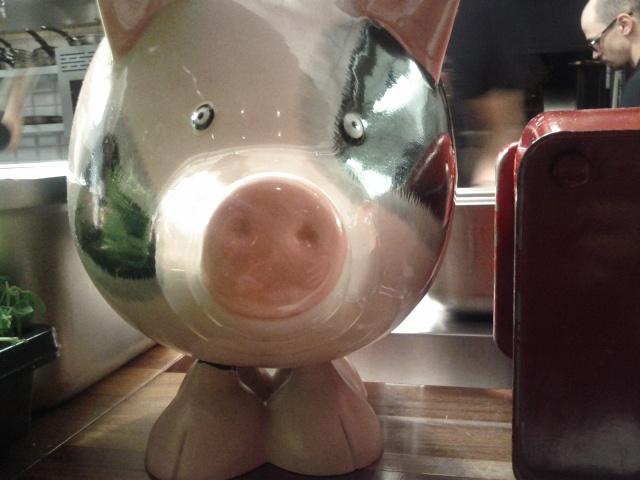 Judgy Piggy?