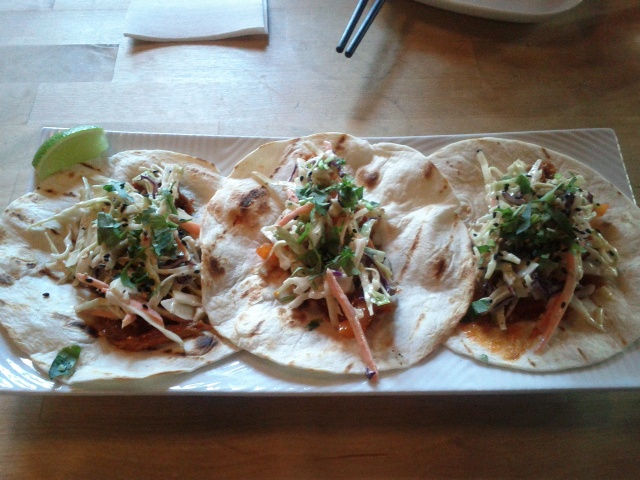 Spicy Broek Acres Pork Shoulder Tacos