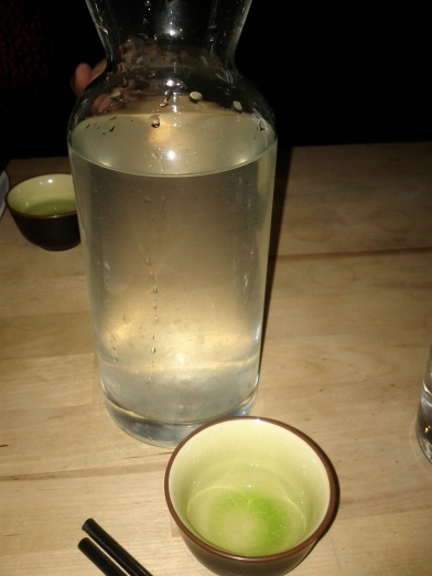 Korean Soju and Aloe Vera