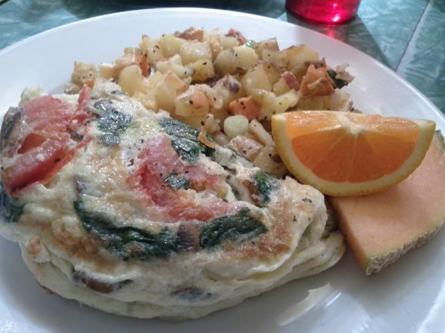 Veg-Oh Omelette