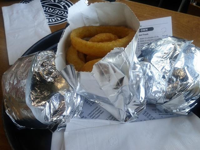 Our BurgerWorks Order