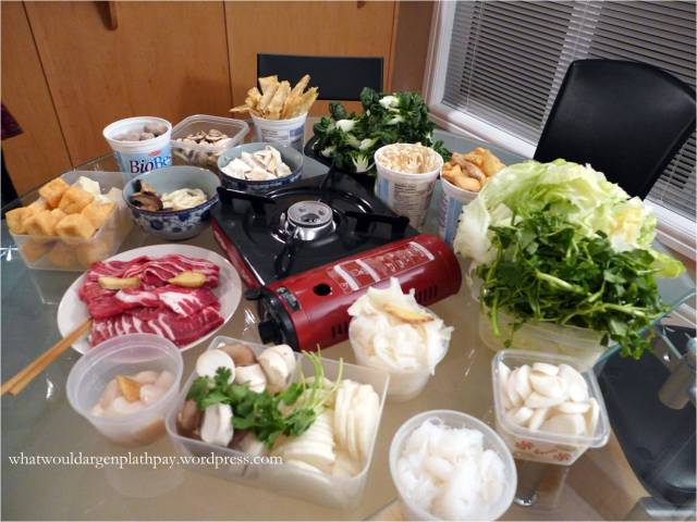 Holiday Hotpot Table
