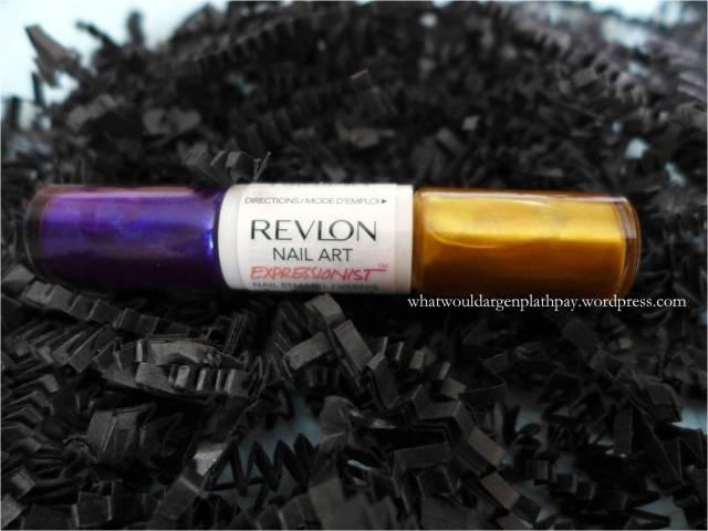 Revlon Nail Art - Expressionist in Vincent Van Gold