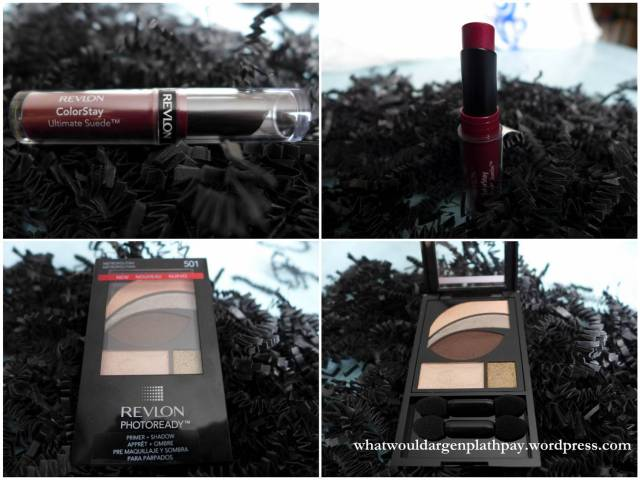 Ultimate Suede ColorStay Lipstick in Backstage and PhotoReady Primer + Shadow in Metropolitan