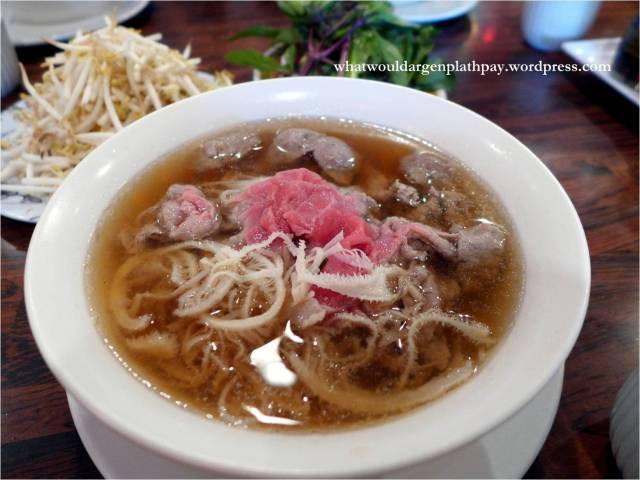 Number 29: Steak, Tripe and Beef Balls Pho