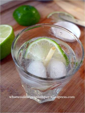 Apple Lime Soju Cocktail