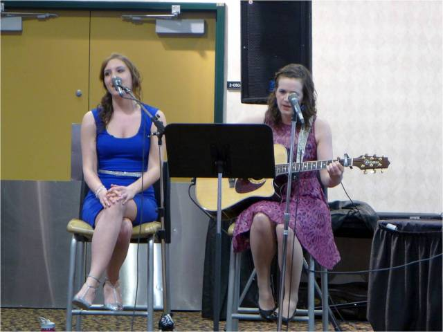 Shayenne Herder and Erin Faught Performance