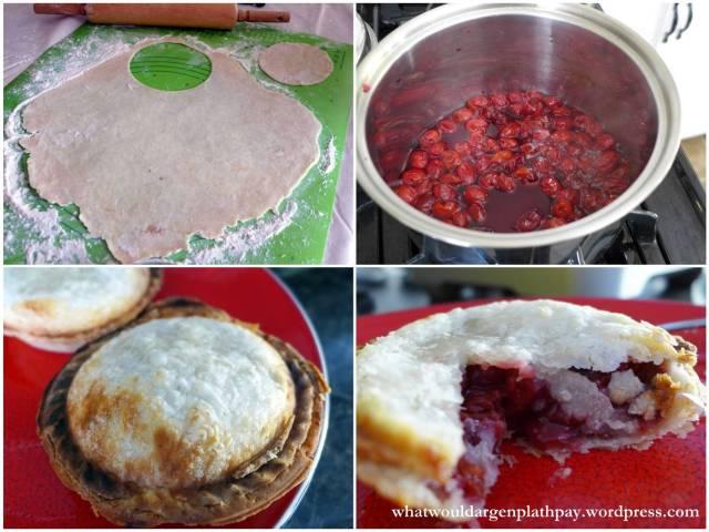 Mini Sour Cherry Pies