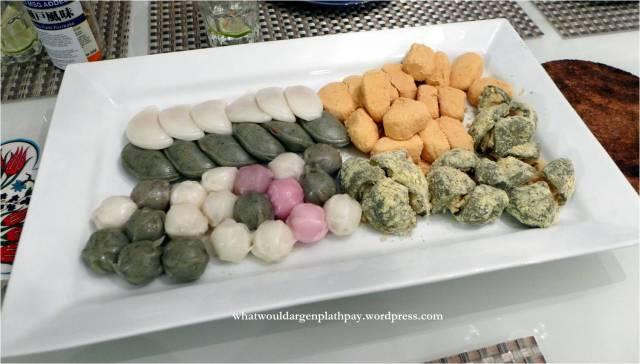 Various Korean Desserts