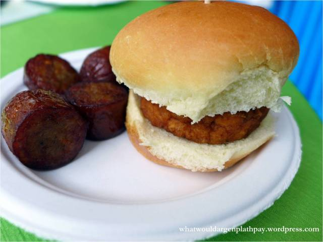 The Hat Resto Bar - Mahi Mahi Slider and Sausage Bites