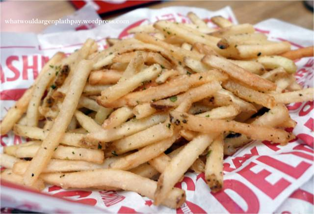Smashfries - Fries tossed with rosemary, olive oil and garlic
