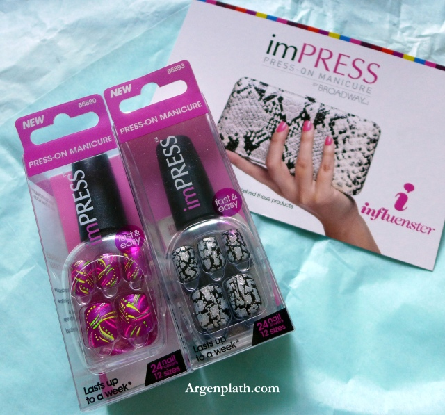 Duo of imPRESS Nails I received in my Influenster Voxbox