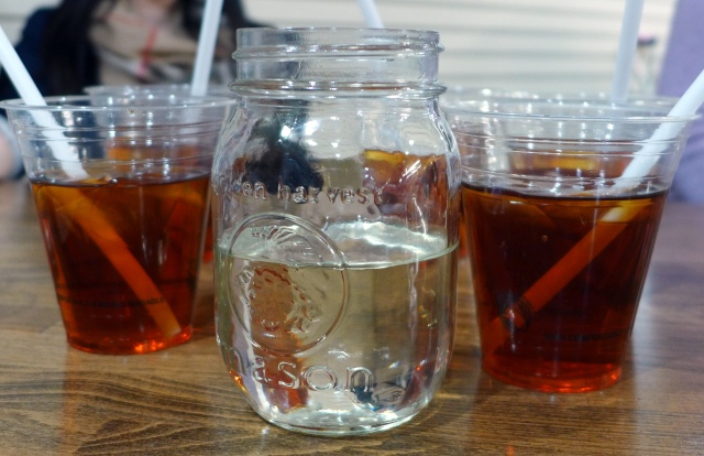 Iced Tea with Simple Syrup
