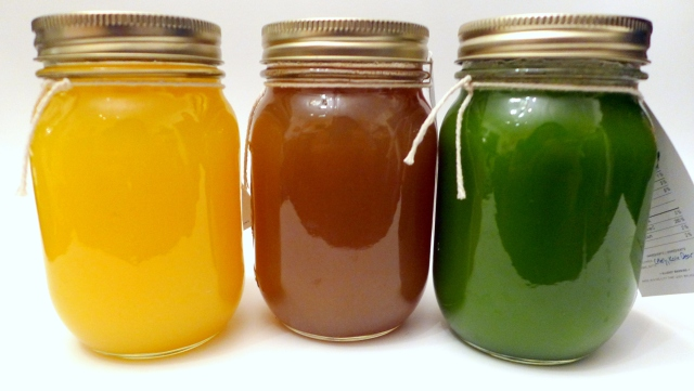 Revojuices: Electrolyte Elixir, Minty Sunrise, Magic Green Drink