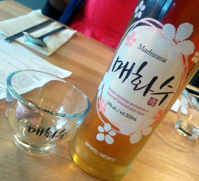 Maehwasu - Plum Flavored Liquor