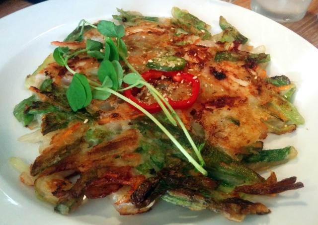 Seafood Pa-Jeon (Seafood Pancake)