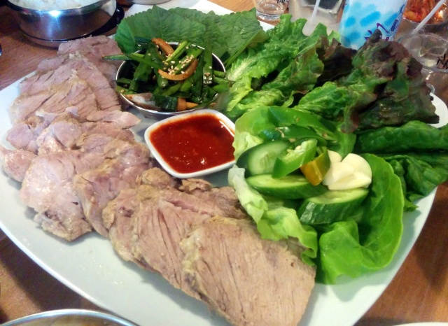 Bo Ssam - Lettuce Wraps with Slow, Braised Pork