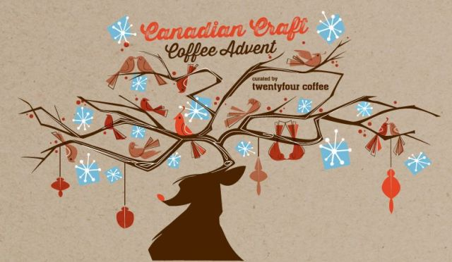 twentyfour coffee advent calendar packaging
