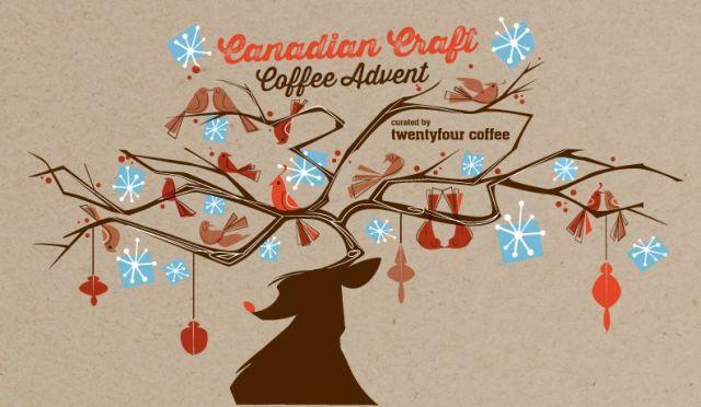twentyfour coffee advent calendar packaging