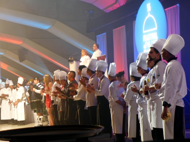 Parade of Chefs