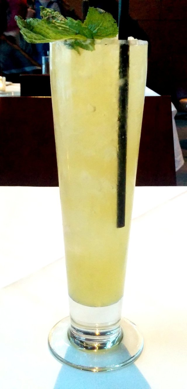 Strange Brew - Eau Claire Parlour Gin, Falernum, Pineapple Juice, Lemon Juice, IPA, Mint